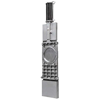 TASARIM TH Model Wafer Tip Bıçak Vanalar (Yüksek basınçlı yoğun akışkanlar…